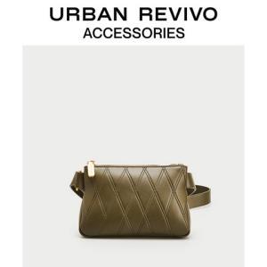 URBANREVIVO2020春季新品女士配件休闲纯色腰包AG04SB8N2005 99元