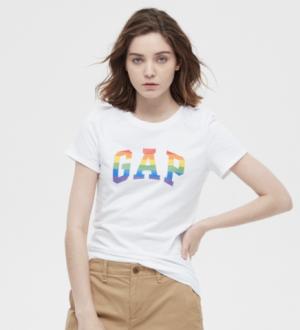 Gap盖璞268820女士短袖T恤 42元