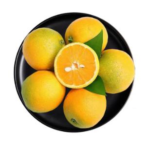高山夏橙橙子5斤(单果60-65mm) 16.8元(需用券)