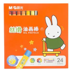 M&G晨光FGM91171米菲系列24色卡通丝滑油画棒24支/盒*5件 21.25元(需用券,合4.25元/件)