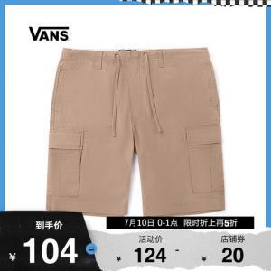 Vans范斯男子梭织短裤 104元