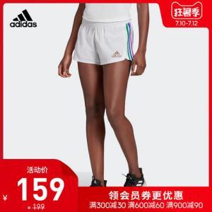 阿迪达斯官网adidasPRIDEPACERSHO女装训练运动短裤GM3526 159元