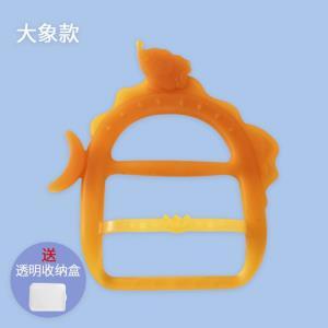 玛兹塔婴儿手环牙胶硅胶磨牙玩具*2件 6.9元包邮(需用券,合3.45元/件)
