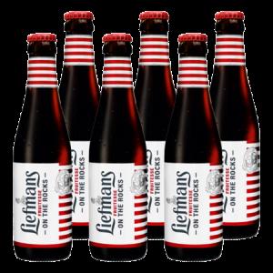Liefmans/乐蔓比利时进口精酿啤酒果味啤酒莓果水果女士酒250ml*6瓶*4件    262元(合65.5元/件)