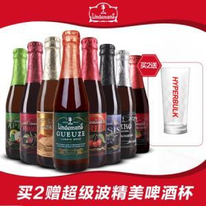 Lindemans/林德曼啤酒果味精酿啤酒女士啤酒随机6瓶组合装250ml*6瓶*4件    254元(合63.5元/件)