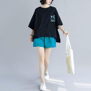 短裤套装女夏两件套2020新款小个子学生韩版休闲t恤宽松时尚    109.9元