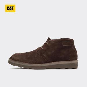 CAT/卡特专柜同款牛剖层革中帮休闲靴深咖色P718604H3GDR36深咖色41*3件    1197.8元(合399.27元/件)