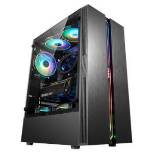 京天StrikeS50i510400/GTX1660S/500G/16GDDR4/台式组装吃鸡电脑游戏主机UPC 4588元