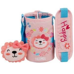 膳魔师(THERMOS)儿童保温杯配件F4013杯套-花环(粉色)-含玩偶BTMY-004*3件156元(合52元/件)
