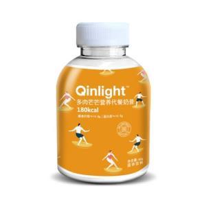 Qinlight小Q瓶营养代餐奶昔多肉芒芒60g    9.9元(需用券)