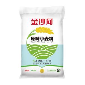 金沙河原味小麦粉10kg 36.72元