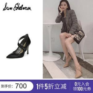 SAMEDELMAN春夏时尚个性气质尖头细跟高跟鞋女式单鞋HINDAG6876 700元(需用券)