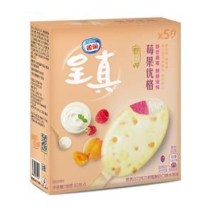 雀巢呈真甜品棒甜杏白巧克力树莓酸奶口味冰淇淋冰激凌雪糕冰棍冷饮批发*5件    125元(需用券,合25元/件)