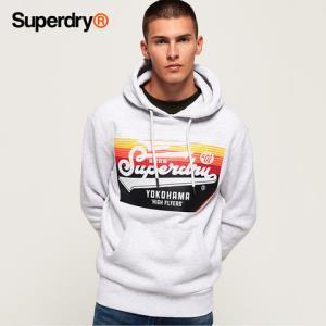 英国Superdry极度干燥卫衣男秋季毛圈连帽套头字母上衣潮牌    272.3元