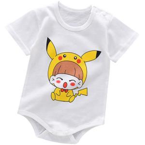 婴儿包屁纯棉连体衣*3件    24.9元(需用券,合8.3元/件)