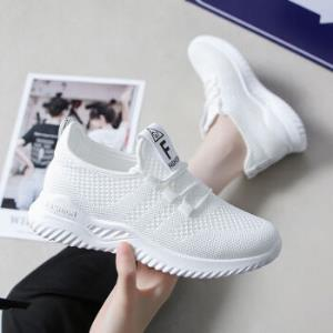 OLOME飞织网面运动鞋女学生春夏新款女鞋韩版跑步 29.9元(需用券)