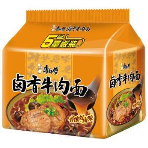 康师傅卤香牛肉面五连包*2件 21.26元(合10.63元/件)