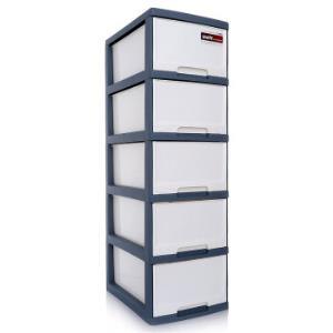 京东PLUS会员、再降价:TENMA天马收纳柜抽屉柜5层*2件+凑单品 171.27元包邮(需用券,合85.64元/件)