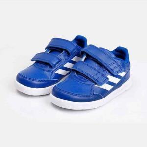 阿迪达斯儿童运动休闲鞋婴幼童魔术贴儿童运动宝宝训练鞋B42105男婴童0-3岁 89.7元