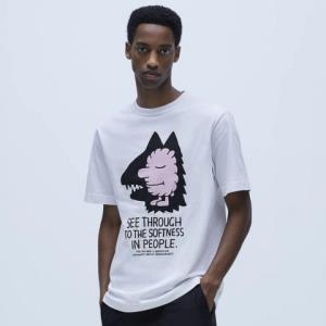 ZARAJEREMYVILLE?04644405250男士插画短袖T恤 59元