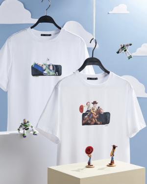 PEACEBIRDMEN太平鸟x玩具总动员系列BWDAA2212短袖T恤*2件 155.88元(合77.94元/件)