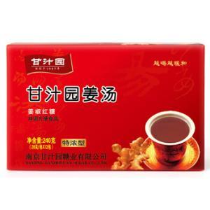 甘汁园姜椒红糖姜汤特浓型240g*12件 104.8元(需用券,合8.73元/件)