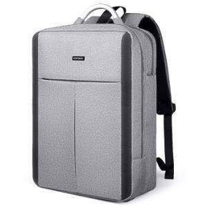 保尔柏德(BOWERBIRD)男士双肩包商务休闲大容量电脑包多功能背包男15.6英寸1185090165灰色*3件    218.1元(合72.7元/件)