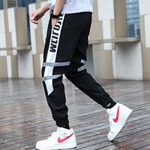 夏季男款轻薄透气九分裤9085白条2XL29.9元(需用券)