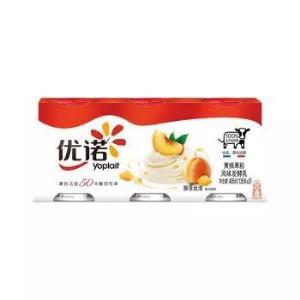 限地区、京东PLUS会员:优诺(yoplait)优丝黄桃/草莓果粒风味发酵乳135g*3盒*12件 100.82元包邮(多重优惠)