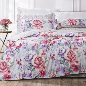 富安娜家纺提花四件套床上用品1.8米床魅惑初染1.8米床适用(被套230*229cm) 659元