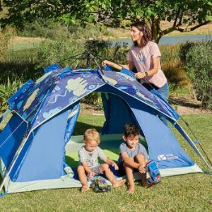 MOBIGARDEN牧高笛EX195610023-4人全自动速搭帐篷+凑单品