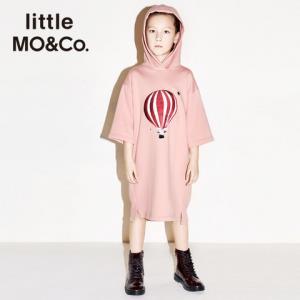 littleMO&Co.女童连帽卫衣裙*5件    796元(合159.2元/件)
