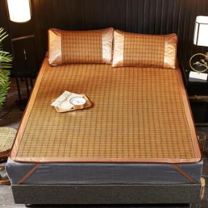 移动端:琳豆豆冰丝藤席三件套150x200cm 58元(需用券)