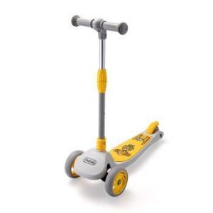 柒小佰儿童萌趣滑板车3档可调一键折叠小孩脚踏车滑滑车储物踏板平衡车玩具代步车2-5岁黄色*2件    193元(合96.5元/件)