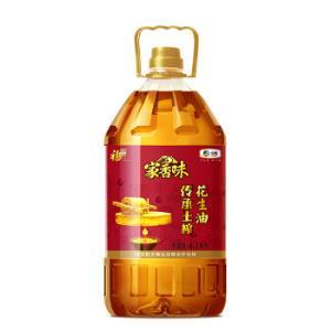 福临门家香味传承土榨压榨一级花生油6.18L食用油中粮出品 129.9元(需用券)