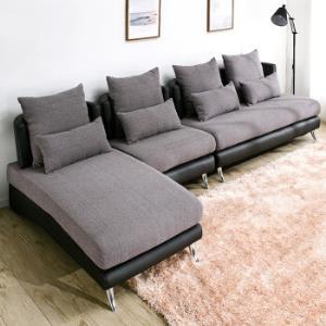 家逸沙发北欧现代布艺沙发简约客厅沙发家具三人组合可拆洗沙发小户型家具 2998元