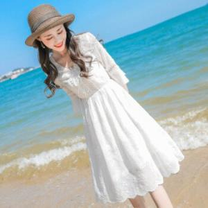 时尚气质雪纺连衣裙女 69.9元(需用券)