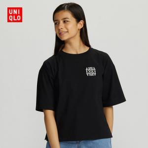 优衣库女装(UT)TextMessages印花T恤(短袖)429988UNIQLO    59元