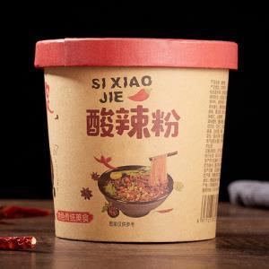 四小姐正宗酸辣粉米线方便速食泡面6桶装整箱重庆红薯粉丝 11.9元
