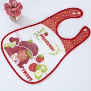 鑫之侣幼儿围兜免洗可反兜草莓女孩*2件+凑单品    5元(需用券,合2.5元/件)