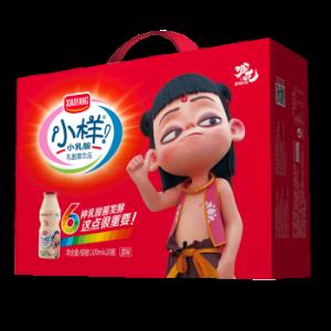小样(XIAOYANG)乳酸菌饮料整箱100ml*20瓶益生菌饮品儿童小瓶酸牛奶脱脂早餐奶学生 27.9元
