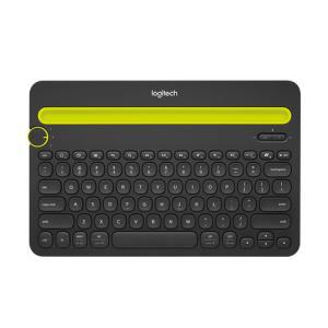罗技(Logitech)K480无线蓝牙键盘可连接苹果安卓手机ipad平板笔记本迷你电脑通用切换家用办公便携黑色129元