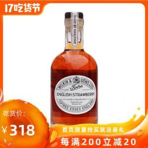 果味金酒英国进口缇树草莓味金酒配制酒350ml单瓶装275元