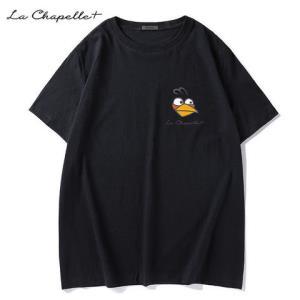 LaChapelle+男士短袖t恤潮牌潮流夏季2020新款宽松纯棉半袖体恤29元