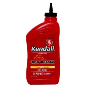 康度(Kendall)美国原装进口75W-90全合成齿轮油手动变速箱油946ML*3件