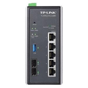 TP-LINK普联TL-ER6225G工业级5口千兆有线VPN工业路由器2千兆光口1个USB3.0接口内置AC功能可管理200台AP5000元包邮(需用券)
