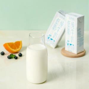 运动健身补蛋白,低脂纯牛奶250毫升*24盒 88元