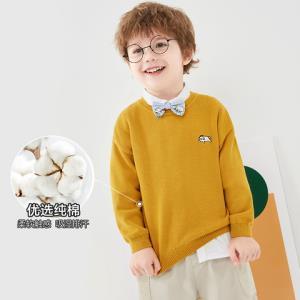 巴拉巴拉童装男童毛衣儿童针织衫宝宝秋装2020新款纯棉打底衫 59元