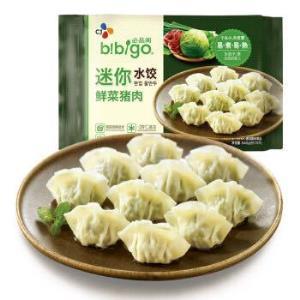 有券的上:bibigo必品阁鲜菜猪肉迷你水饺640g70只*6件 88.64元(双重优惠)