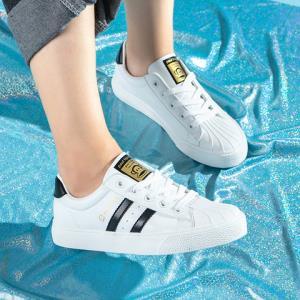 大嘴猴新款贝壳头女板鞋秋季百搭小白鞋韩版女鞋休闲鞋    99元